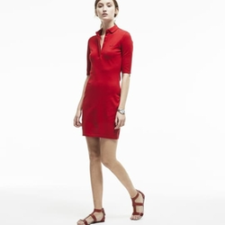 Lacoste - Piqué Polo Dress