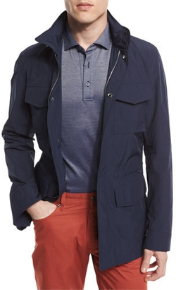 Ermenegildo Zegna - Nylon-Blend Safari Jacket