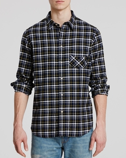Paul Smith - Plaid Flannel Button Down Shirt