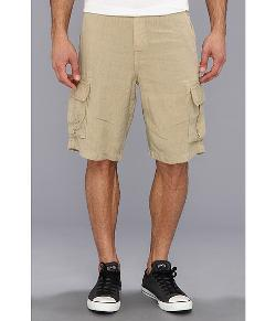 Lucky Brand - North Shore Linen Cargo Short