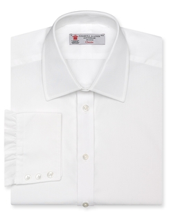 Turnbull & Asser - Solid Poplin Dress Shirt