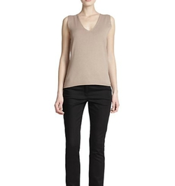 Escada - Knit V-Neck Shell