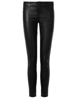 J Brand - Black Tar Coated Leggings