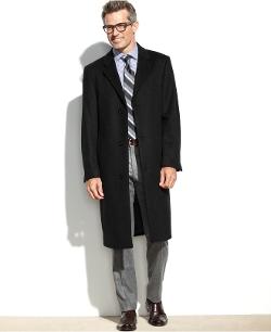 Izod - Prospect Wool-Blend Overcoat