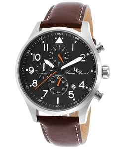 Lucien Piccard - Peak Chronograph Genuine Leather Watch