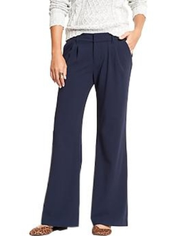 Old Navy - Pleated Wide-Leg Trousers
