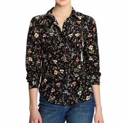 Joe Fresh - Print Silk Shirt