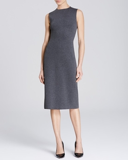 Theory Ekundayo - Fixture Ponte Sheath Dress