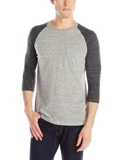 Threads 4 Thought  - Three-Quarter Sleeve Pocket Raglan Shirt
