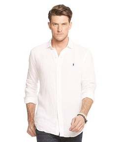 Polo Ralph Lauren  - Gingham Linen Estate Shirt