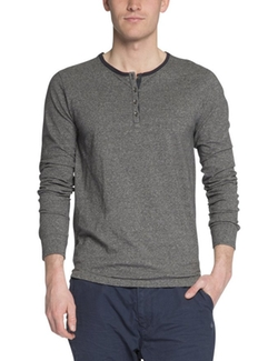 Scotch & Soda - Long Sleeve Henley Shirt