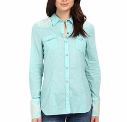 Stetson - Solid Lawn Western Shirt