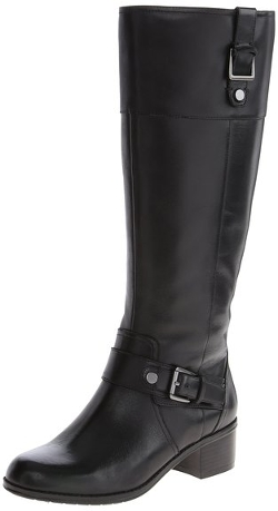 Bandolino - Cranne Wide Leather Riding Boots