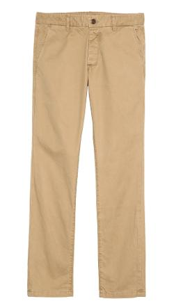 Grown & Sewn  - Slim Fit 3-Ply Chinos