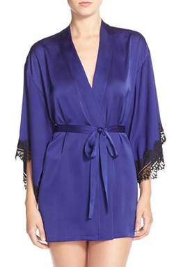 Josie - Washed Satin Robe