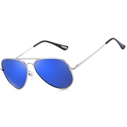 Bertha - Aviator Mirrored Sunglasses