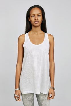 Faith Connexion - Ponged Silk Tank Top