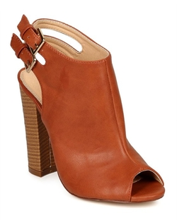 Liliana - Peep Toe Ankle Boots