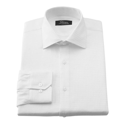 Steven Land  - Spread-Collar No Iron Dress Shirt