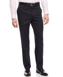 Ralph Lauren - Wool Solid Black Dress Pants