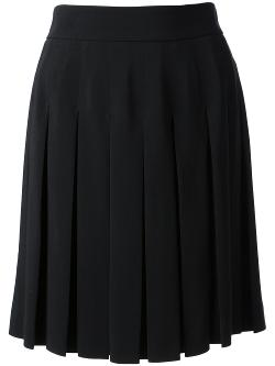 ALEXANDER MCQUEEN - box pleat skirt