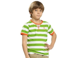Camel - Boys Stripe Breathable T-Shirt