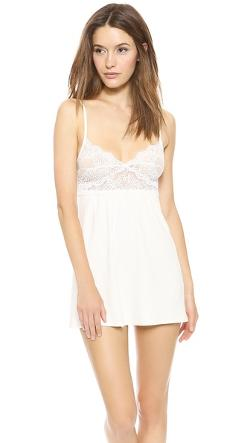 Only Hearts  - So Fine Baby Doll Chemise