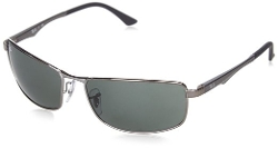 Ray-Ban - 0RB3498 Rectangular Sunglasses