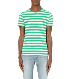 Ralph Lauren - Striped Crew-Neck Cotton T-Shirt