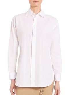 Polo Ralph Lauren  - Cotton Long-Sleeve Shirt