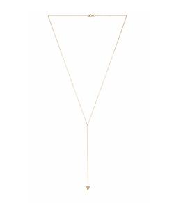 Eight by Gjenmi Jewelry - Moonstone Bezel Lariat Necklace