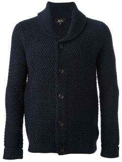 A.P.C. - Bobble Knit Cardigan