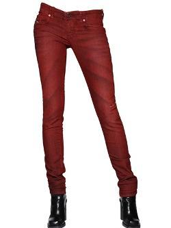 Diesel  - Stretch Washed Denim Jeans
