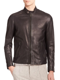 Vince  - Leather Moto Jacket