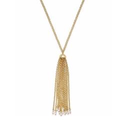 Lauren Ralph Lauren - Long Tassel Pendant Necklace