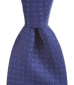 Cremieux - Connect Four Silk Tie