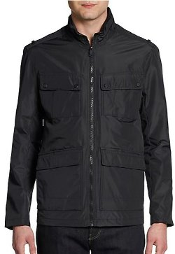 Marc New York by Andrew Marc  - Multi-Pocket Zip Jacket
