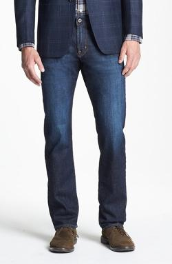 AG - Graduate Tailored Fit Straight Leg Jeans