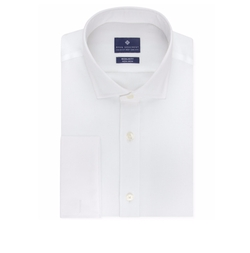Ryan Seacrest Distinction - Classic-Fit Non-Iron French Cuff Dress Shirt