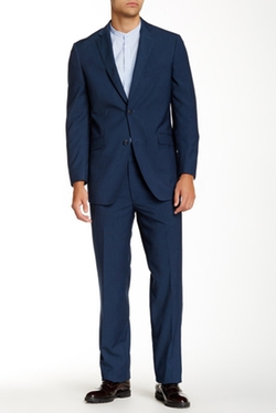 US Polo Assn.  - Pinstripe Two Button Notch Lapel Modern Fit Suit
