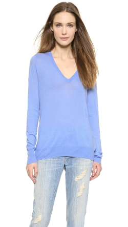 Equipment  - Cecile V Neck Sweater