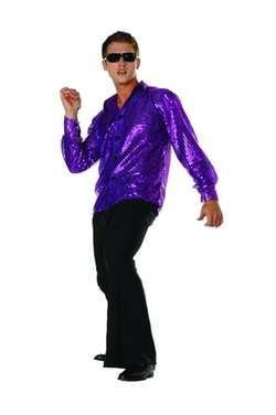 RG Costumes - Disco Inferno Shirt