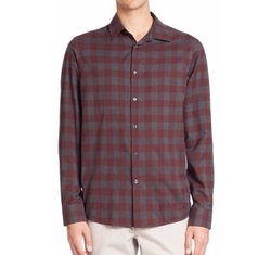 Michael Kors - Enzo Slim-Fit Checkered Shirt
