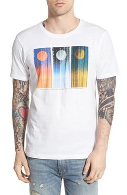 WeSC  - Grayson Graphic Crewneck T-Shirt
