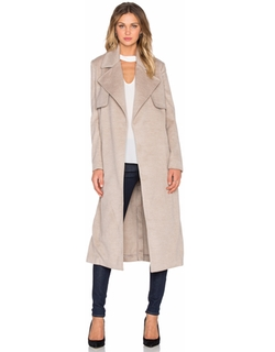 Bardot - Felt Trench Coat