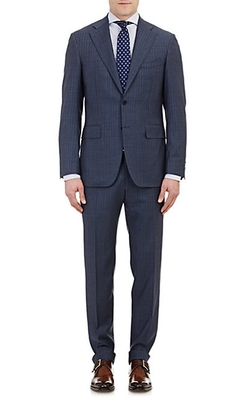 Canali  - Capri Striped Two-Button Suit