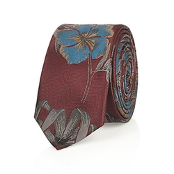 River Island - Floral Print Tie