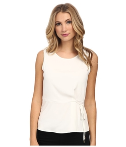 Calvin Klein - Sleeveless Blouse with Bow Details