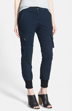 James Jeans - Slouchy Fit Utility Jogger Pants