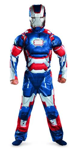 Disguise - Iron Man 3 Patriot Classic Muscle Costume